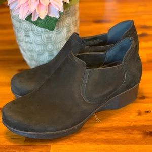 Black Suede Dansko Shoe